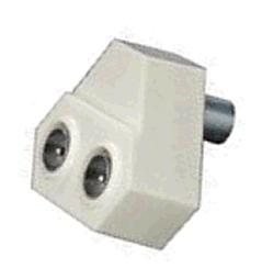 Generic TV Antenna Splitters 1 to 2 port Ad Coax 1-2