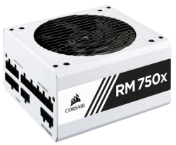 Corsair Rmx White Series Rm750X White 750 Watt (750W) 80 Plus Gold Certified Fully Modular Power