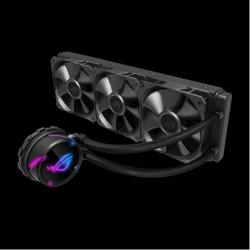 Asus Rog Strix Lc 360 All-In-One Liquid Cpu Cooler Aura Sync Triple Rog 120Mm Radiator Fans (ROG STRIX LC 360)