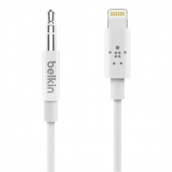 Belkin Lightning To 3.5Mm Audio Cable 1M White Av10172Bt03-Wht