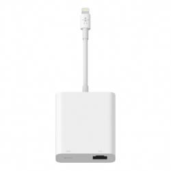 Belkin Ltg Ethernet Adpt Power Pass Thru White B2B165Bt