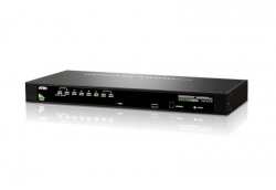 Aten 8 Port Rackmount Usb-Ps/ 2 Vga Kvm Switch With Osd Cs-1308
