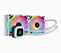 Corsair Hydro Series™ H100i RGB PLATINUM SE 240mm Liquid CPU Cooler (H100i-RGB-PLATINUM-SE)