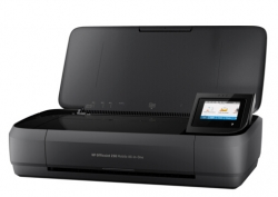 Hp Officejet 250 Mobile All-in-one Printer, Wireless, Print, Copy And Scan, 700mhz, 256mb, Usb