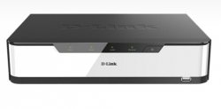 D-link Dnr-2020-04p Network Video Recorder (nvr) With Hdmi/ Vga Output, 4 Poe Ports, 2 Bays For
