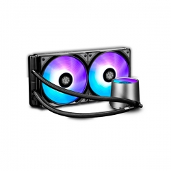 Deepcool Castle 280 Rgb Enclosed Liquid Cooling System Dp-Gs-H12L-Csl280Rgb