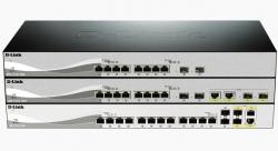 D-link Dxs-1210-10ts 10-port Gigabit Websmart Switch With 8 10gbase-t Ports And 2 Sfp+ Ports Dxs-1210-10ts