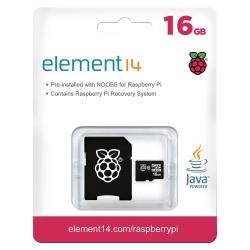 16Gb Microsd Card Preloaded With Noobs (V2) Os Installer For Raspberry Pi E14-2842115