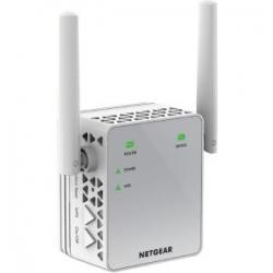 Netgear Ex3700 Ac750 Universal Wifi Range Extender - Wall Plug Edition Ex3700-100aus