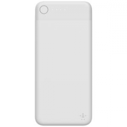 Belkin Boostcharge Power Bank 10K With Lightning Connector White F7U046Btwht