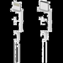 Belkin Mixit Up Ltg To Usb-C Chargesync Cbl 4 Wht F8J239Bt04-Wht