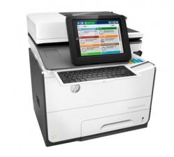 Hp Pagewide Enterprise Flow 586z Multifunction, Color Print, Copy, Scan, Fax, Duplex, Usb, 1.2