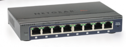 Netgear Gs108Pe (Prosafe Plus 8-Port Gigabit Switch With 4-Port Poe) Gs108Pe-300Aus