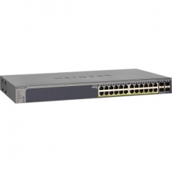 Netgear Gs728tppv2 24-port Gigabit Poe+ Ethernet Smart Managed Pro Switch With 4 Sfp Ports 380w
