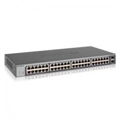 Netgear Gs750E 48-Port Gigabit Fanless Smart Managed Plus Switch With 2 Sfp Ports (Gs750E) Gs750E-100Ajs