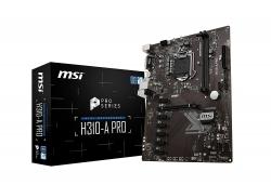 Msi H310-a Pro Intel Atx Mb H310-a Pro