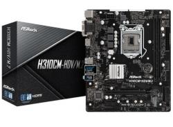 Asrock Intel H310 Chipset Micro Atx Pcie X16 M.2(1 Ssd) Hdmi Dvi-d D-sub Usb 3.1 Intel I219v 3