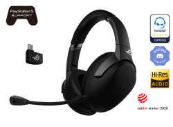 ASUS ROG Strix Go 2.4 USB-C 2.4 GHz wireless gaming headset with AI noise-cancelling microphone (ROG STRIX GO 2.4)