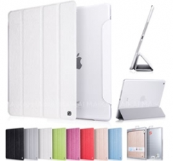 Hoco Ice Ultra Slim Premium Smart Case For Ipad 2 /3 /4 Snow White, Free Screen Protector