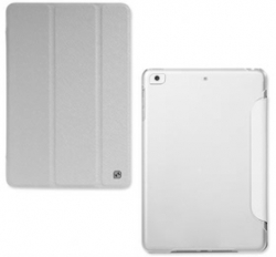 Hoco Ice Ultra Slim Premium Smart Case For Ipad Mini/ Mini Retina Snow White, Free Screen Protector