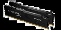 Kingston 32GB 2666MHz DDR4 CL16 DIMM (Kit of 2) HyperX FURY Black (HX426C16FB4K2/32)