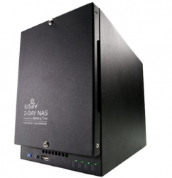 Iosafe 218 6tb (3tbx2) Nas - Two Bay Fireproof/ Waterproof Nas Device With Raid 1 Powered By Synology
