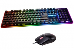 Cougar DEATHFIRE EX Gaming Keyboard & Mouse: DEATHFIRE EX RGB HYBRID-MECHANICAL (DEATHFIRE EX)