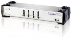 Aten 4 Port Usbdual-View Kvmp/ Usb Hub & Audio - Cables Inc Cs1744C-At
