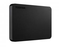 "Toshiba Hdd 2.5"" External Usb3 1tb Canvio Basic A1 (black) 3 Year Warranty Hdtb410ak3aa"