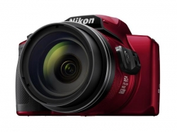 Nikon Digital Compact Camera Coolpix B600 Red 16Mp 60X Optical Zoom Fixed Lens Mini Hdmi B600-Red