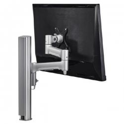 Atdec Awm Single Monitor Arm Solution - 460Mm Articulating Arm - 400Mm Post - Bolt - Black Awms-4640B-B