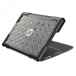 """Gumdrop Bumptech Hp Chromebook G6 11"""" Case - Designed For: Hp Chromebook G6 11"""" Bt-hpcb11g6eecs-blk"""