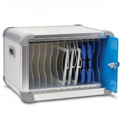 Lapcabby Deskcabby 12 Charge   12-Device Desktop Usb Charging Cabinet  - Vertical Deskcab12Co