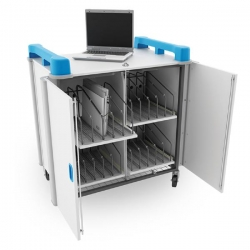Lapcabby 20 Vertical   20-Device Mobile Ac Charging Trolley  - Vertical Lap20V