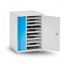 Lapcabby Lyte 10 Single Door   10-Device Static Ac Charging Cabinet - Horizontal Lyte10Sd
