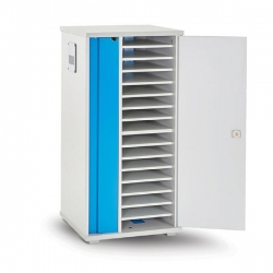 Lapcabby Lyte 16 Single Door   16-Device Static Ac Charging Cabinet  - Horizontal Lyte16Sd