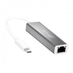 J5Create Jce133G Usb-C To Gigabit Ethernet Adapter (Usb Type-C To Rj-45) Jce133G