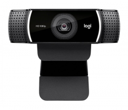 Logitech Webcam: C922 Pro Stream, USB Full HD 1080P (960-001090/1091)