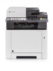 Kyocera Ecosys M5521cdw A4 Colour Mfp Printer / 21ppm / Copy Scan Fax / 1x50 Sheet Tray 1x250 Sheet Tray / Usb / Nic / Wifi / Duplex / 2yr 1102r93as0