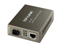 Tp-Link Wdm Fast Ethernet Media Converter, Single Mode, Sc Connector, Conversion Between 10/100Base-Tx