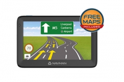 NAVMAN MOVE130M GPS NAVIGATION DEVICE FREE MAPS INCLUDED 5INCH LCD TOUCH SCREEN (AA0073313)