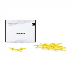 Noctua Yellow Chromax Na-sav2 Anti Vibration Mounting Bolts (20 Pack) Na-sav2-yellow