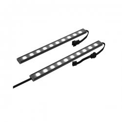Nzxt Hue Underglow 200mm Dual Rgb Led Strips Nzt-ah-2ugkd-b1