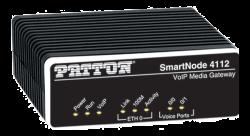 Patton Sn4112/ Jo Smartnode Dual Fxo Voip Gateway 1X10/ 100Baset H.323 And Sip External Power Sn4112/Jo