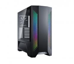 Lian-Li PC-LAN2X Mid-Tower: LANCOOL II X, E-ATX RGB Tempered Glass Side Case - Black (PC-LAN2X)