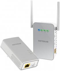 Netgear Plw1000 Powerline Wifi 1000 (1 X Pl1000 Adapter 1 X Plw1000 Access Point) Plw1000-100aus