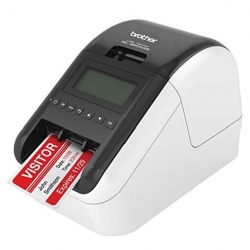 Brother Wireless (wifi & Bt) / Networkable High Speed Label Printer / Up To 62mm With Black/ Red