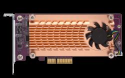 QNAP QM2-4P-384 QUAD M.2 2280 PCIE SSD EXPANSION CARD (QM2-4P-384)