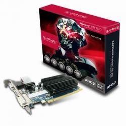 Sapphire AMD R5 230 1GB Video Card - GDDR3, PCI-E, HDMI/ DVI/ VGA, LP Bracket Included 11233-01-20G