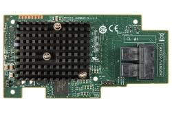 Intel Raid Module, 1gb 3108, 8x Sas/ Sata 12g, Raid 0/ 1/ 10/ 5/ 50/ 6/ 60 Rms3cc080